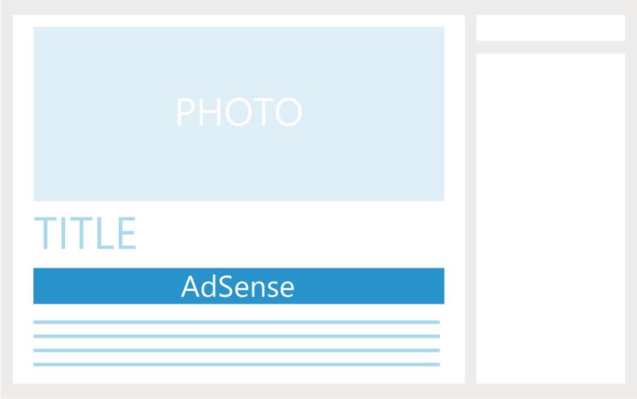 タイトル下にAdSenseを配置する