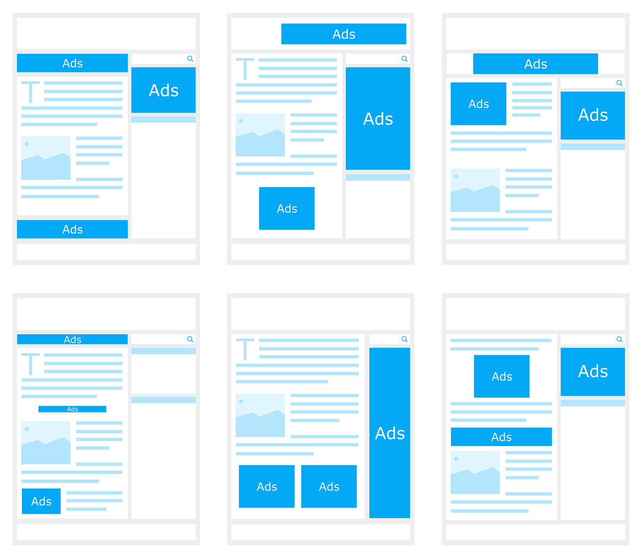 【初心者向け】AdSense基本の3つの設置場所